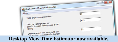 lawn care bid estimator