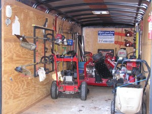 lawn care trailer rack 5