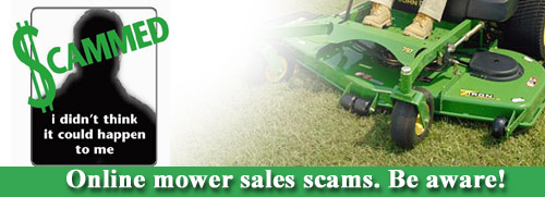 Online Lawn Mower Scams