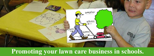 Lawn Care Business Marketing in Schools