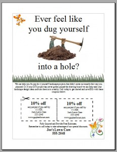 Free Lawn Mowing Flyer Template Lawn Care Business