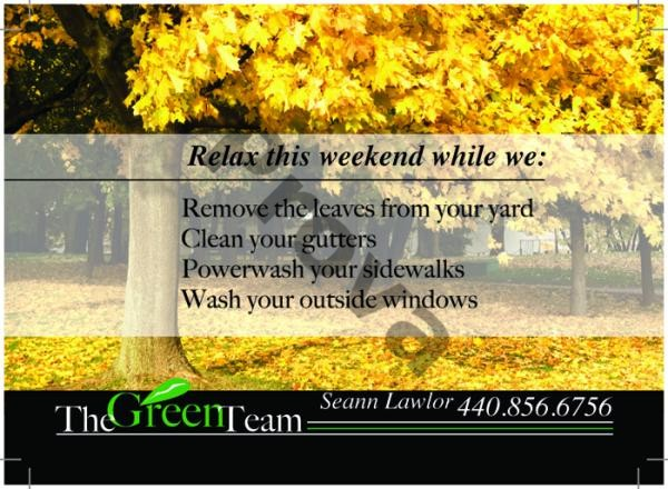 Lawn Care Business Postcard Design #6