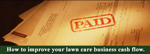Lawn care business cash flow