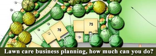 Lawn care business planning