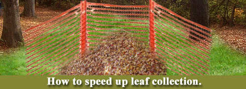 How to speed up leaf collection
