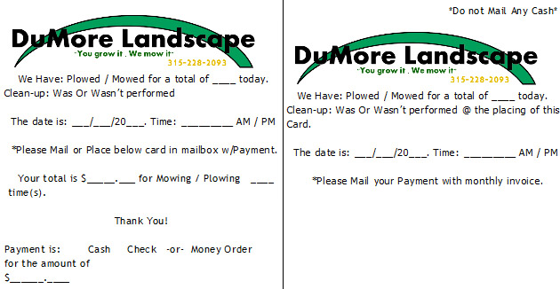 invoice template gardening – neverage, Simple invoice