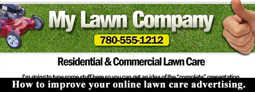 Improve your online lawn care business advertising