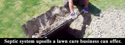 Septic system upsell ideas