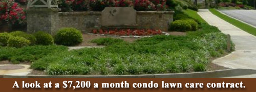 Condo Association Lawn Care Contract