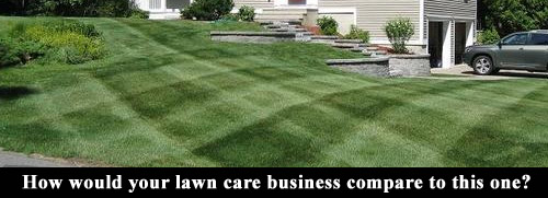 How would your lawn care company compare