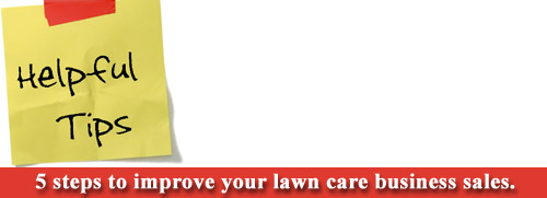 Lawn Care Business Sales