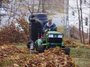 steep leaf cleanup job bid example