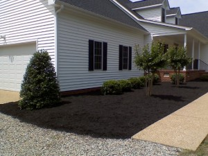 mulch and lawn care bid example 2