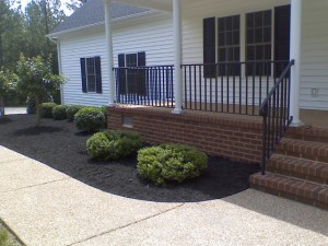 mulch and lawn care bid example 3