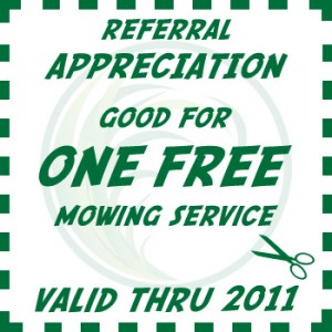 lawn care referral