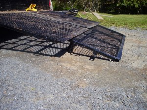 landscape trailer ramp fix