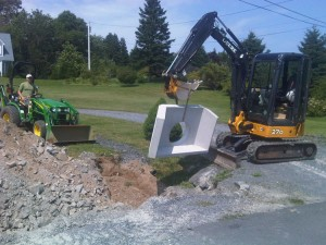 culvert installation part 4