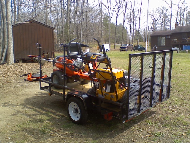 Business plan for lawn mowing company trailer