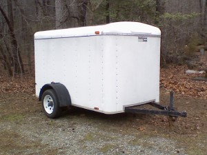 Enclosed Landscape Trailer