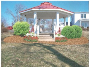 Gazebo Landscape Design After