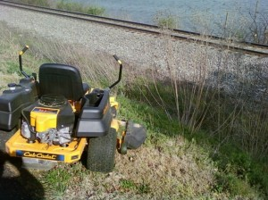 Mower Accident