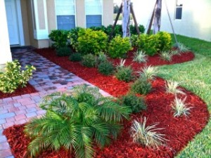 Landscape Mulch Job - After