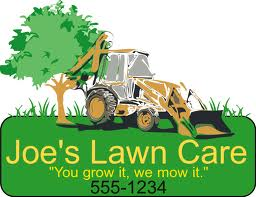 Free Lawn Care Logo Template