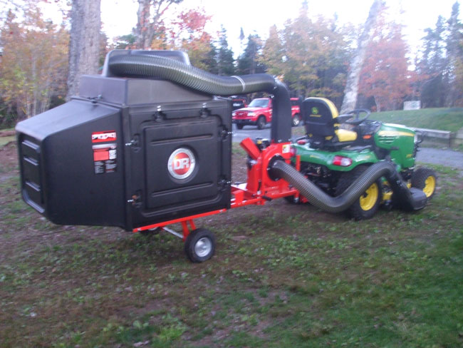 Grass And Leaf Vacuum Gopherhaul Landscaping Amp Lawn Care