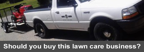 Should you buy this lawn care business?