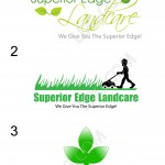 Lawn care business logo designs #1.