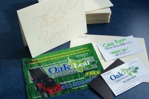 Lawn Care Thank You Card