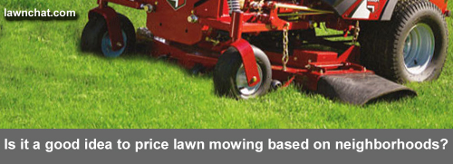 Should you include mowing prices on your lawn care flyer?