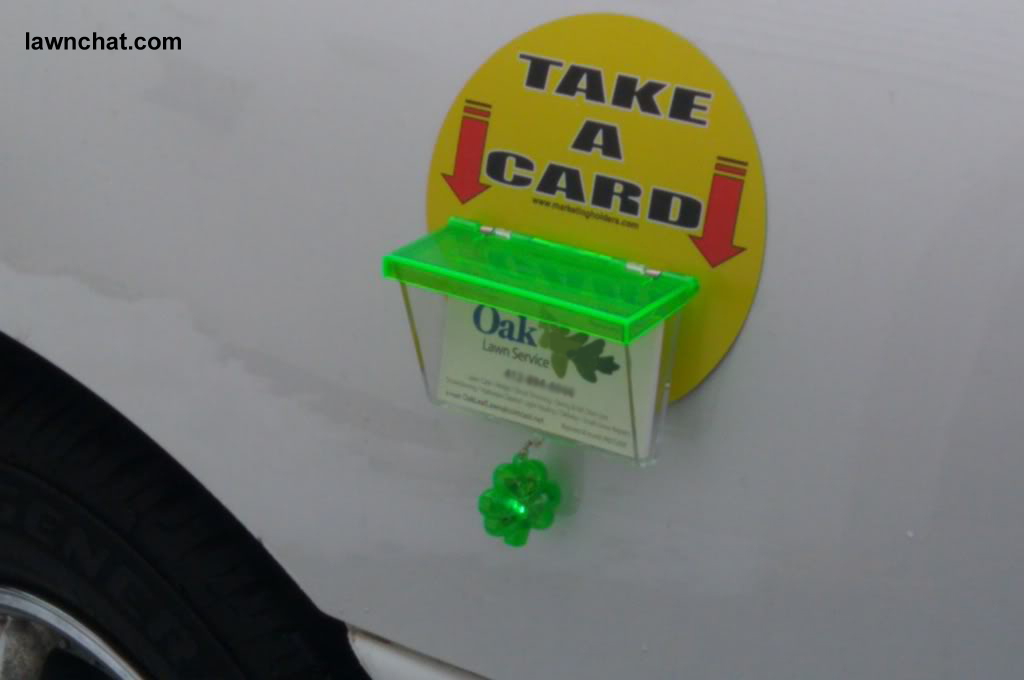 lawn-care-business-card-holder-for-truck4 | Lawn Care Business ...
