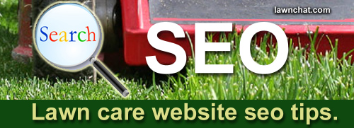 Lawn care website seo tips.