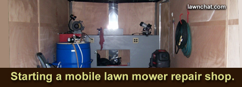 Starting A Mobile Lawn Mower Repair Shop Lawn Care