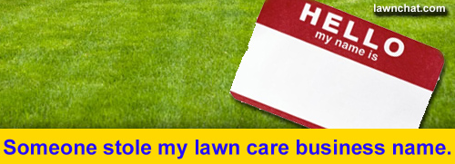 Lawn care business name