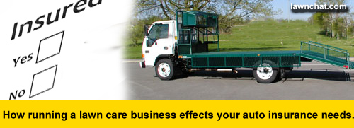 Lawn care business insurance.