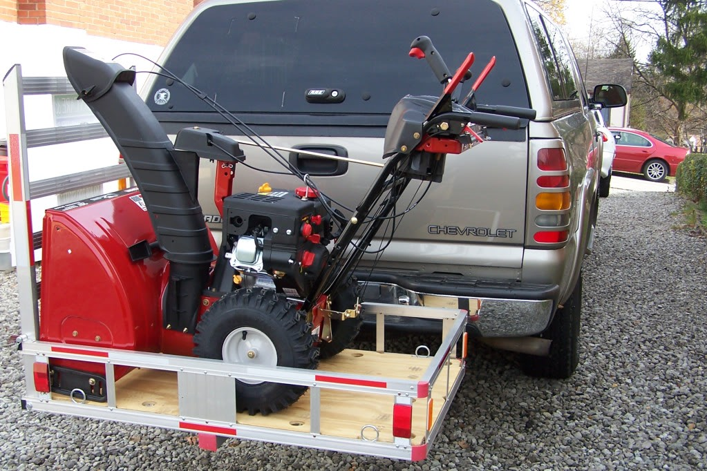 Lawn Tractor Cargo Rack : I want to start a lawn care business but only have car
