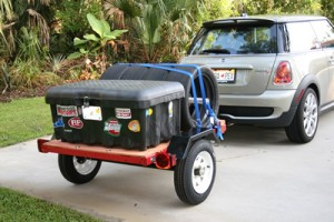 Landscape Business Mini Trailer