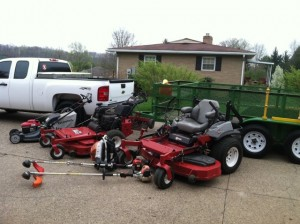 4th mowing season equipment